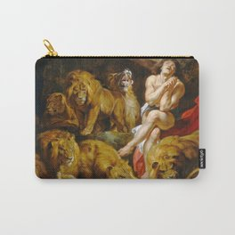 Wailing Between A Flock Of Lions Ultra HD Carry-All Pouch