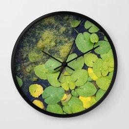 Pond by Althéa Photo Wall Clock