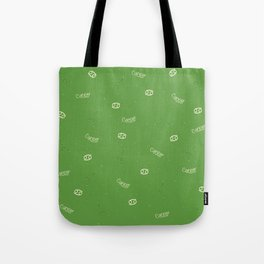 Cancer Pattern - Green Tote Bag