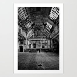 Newport Technical Institute Art Print