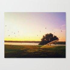 Sunrise Morning Canvas Print