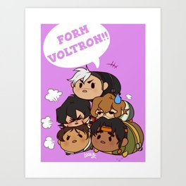 Tsum Tsum VLD Art Print