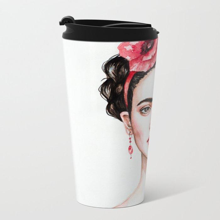 Frieda Metal Travel Mug