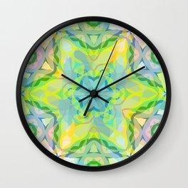 A colorful kaleidoscope 3 Wall Clock