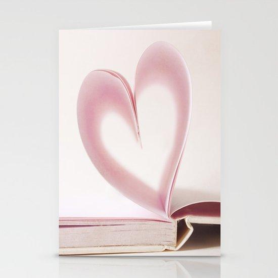 Valentine Pastel Heart  Stationery Cards