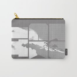 ROCKIT (White on Grey) Carry-All Pouch