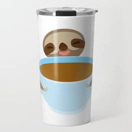 sloth & coffee Travel Mug