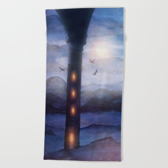 Sunset I C. VI Beach Towel
