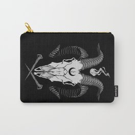 Occult Goat Skull Carry-All Pouch