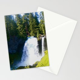 Gushing Waterfall Stationery Cards