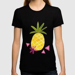 Tropical Watercolor Pineapple T-shirt