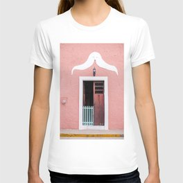 Pink House in Mexico T-shirt