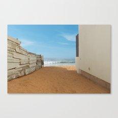 Meditation Beach Canvas Print