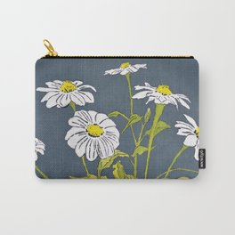 White Mexican Sunflowers Carry-All Pouch