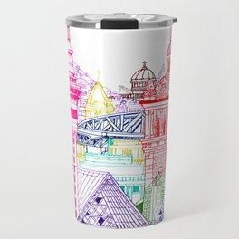 New Zealand Towers  Travel Mug