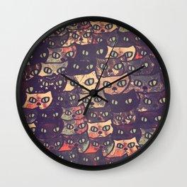 cat-227 Wall Clock