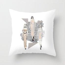 Fashionary 9 Throw Pillow