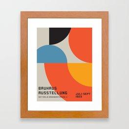 Vintage poster-Bauhaus Ausstellung 1923. Framed Art Print