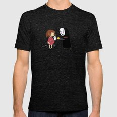 Chihiro & NoFace SMALL Tri-Black Mens Fitted Tee