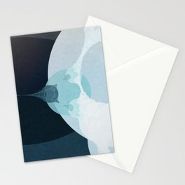 Behind the Teal Curtain Stationery Cards
