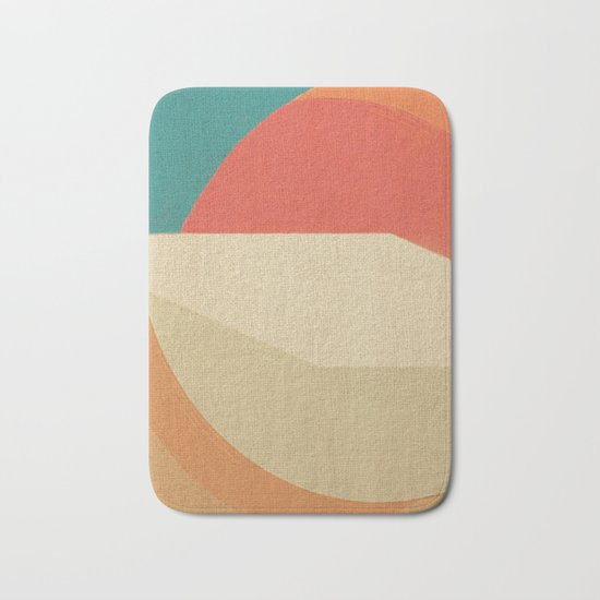Sand Strip Bath Mat