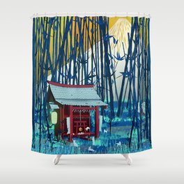 On my way to Mount Fuji Shower Curtain