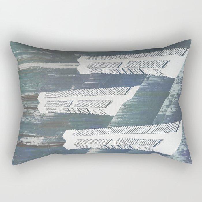 white chimneys / 19-09-16 Rectangular Pillow