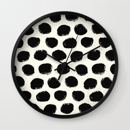 Urban Polka Dots Wall Clock