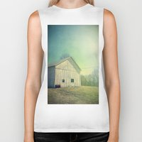country Biker Tanks featuring Country Morning by Olivia Joy StClaire