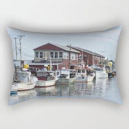 Coastal Maine View Rectangular Pillow