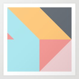 Geometric Pattern VII Art Print