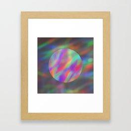 abalone light Framed Art Print