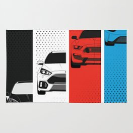 Ford Performance Rug