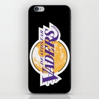 lakers iPhone & iPod Skins featuring L.A. Vaders by Ant Atomic