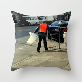 Catch The Wind-sweeper Throw Pillow