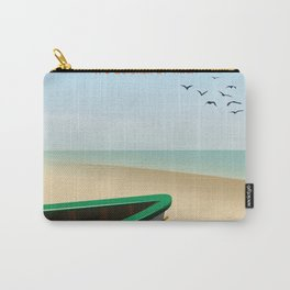 St Ives ,Cornwall ,beach travel poster, Carry-All Pouch