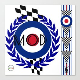 We are the MODs Canvas Print