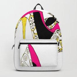 Fashion shoe art Backpack