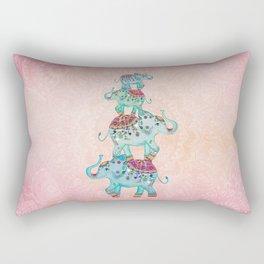 LUCKY ELEPHANTS Rectangular Pillow