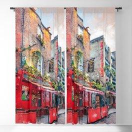 Dublin art #dublin Blackout Curtain