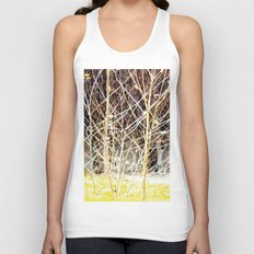 Nature finds the way inside... and outside... Everywhere! Unisex Tank Top