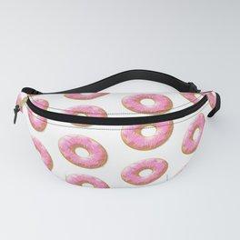 Pink Donuts Pattern   Pop Art Fanny Pack
