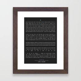 Typography Framed Art Prints Society6