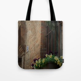 Christmas Window Ferrara Italy Tote Bag