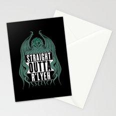 Straight Outta R'lyeh Stationery Cards