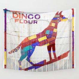 Dingo Flour Wall Tapestry