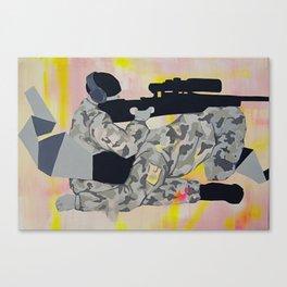 kamuflaj Canvas Print