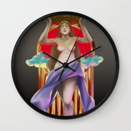 Labandera Wall Clock