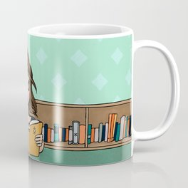 The Library is Infinity Under a Roof Coffee Mug