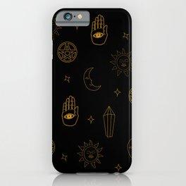 Wicca Pattern iPhone Case